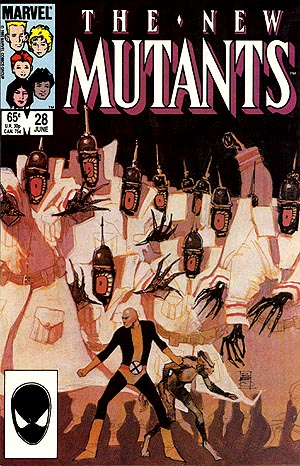 Cover of New Mutants #28
