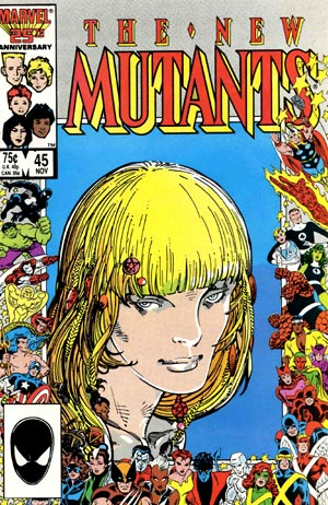 Cover of New Mutants #45