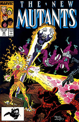 Cover of New Mutants #54