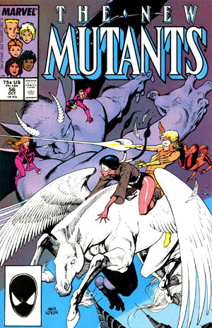 Cover of New Mutants #56