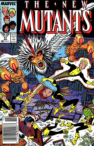 Cover of New Mutants #57