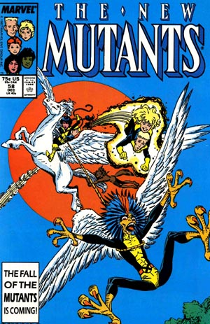 Cover of New Mutants #58