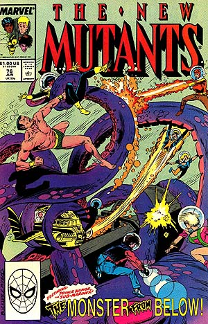 Cover of New Mutants #76