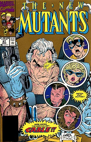 Cover of New Mutants #87