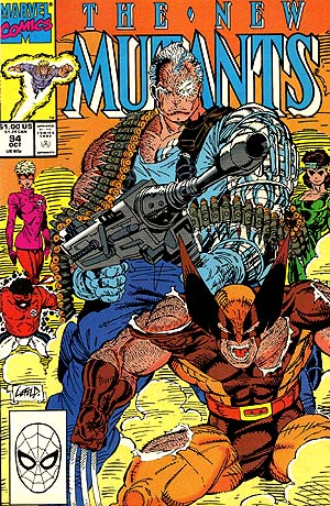 Cover of New Mutants #94