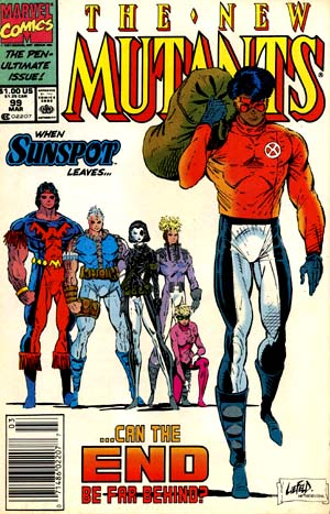 Cover of New Mutants #99