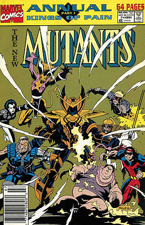 Cover of New Mutants Annual #7