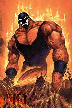 religion of brimstone artificial creation darkseid sent