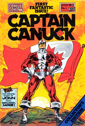 Captain Canuck Tom Evans