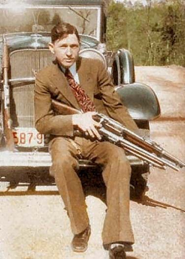 Character Clyde Barrow Outlaw Of Quot Bonnie And Clyde Quot Fame