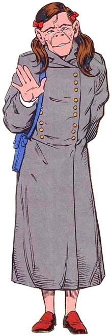 Character Dorothy Spinner Of The Group The Doom Patrol