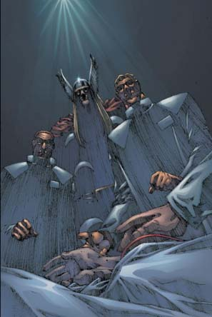 Religion and Characters in Marvel Double-Shot #1 (Jan