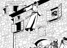 The Flying Friar (St. Joseph of Cupertino)