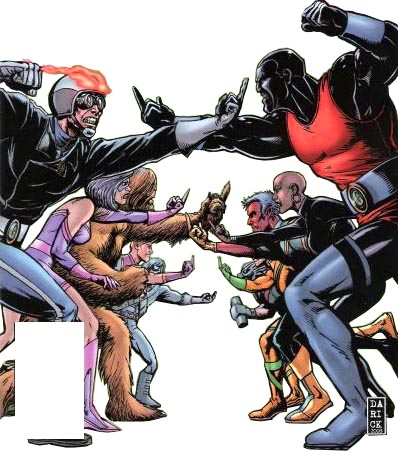 Character: The G-Men; parody of X-Men (30849)