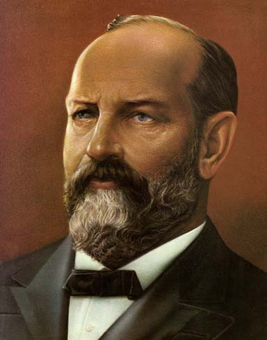 religion of james a garfield generals us presidents