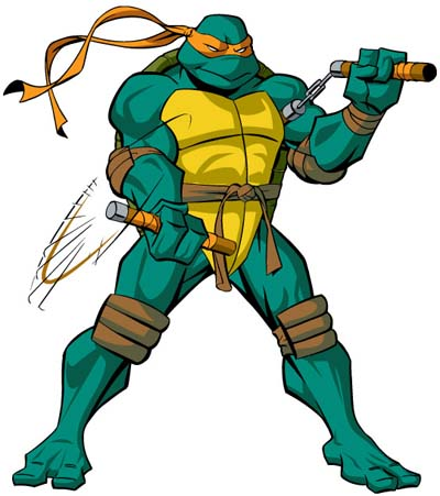Ninja turtles michelangelo - photo#12