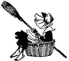 The Old Woman Tossed Up in a Basket