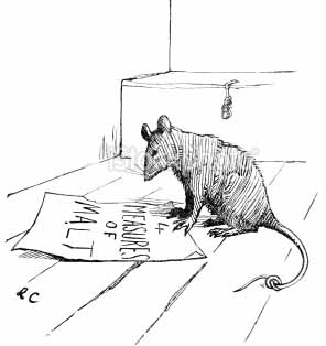 the rat that ate the malt