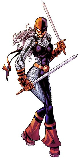 Character Ravager Rose Wilson Of The Group The Teen Titans