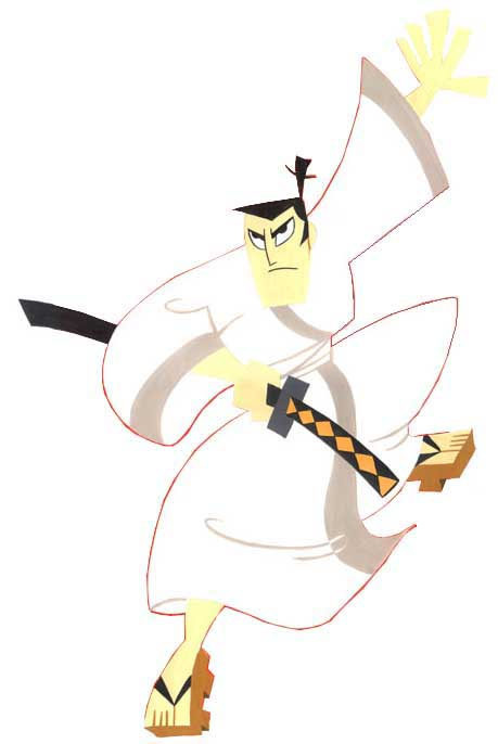Cartoon Characters Named Jack : Religion of samurai jack brent worthington
