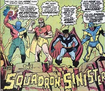 Image result for squadron sinister first appearance