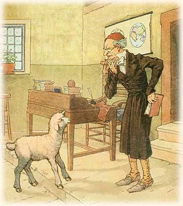 """the teacher"" and ""lamb to the The lamb by william blake analysis essays the speaker is the child who is also the teacher the child asks the lamb who gave him life and all his needs."