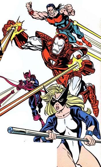 The Avengers: West Coast  #55 Marvel Comics