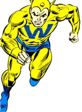 character whizzer bob frank of the groups the avengers