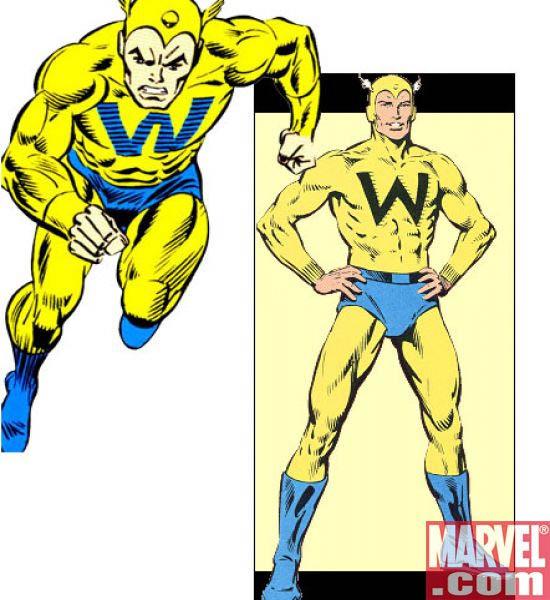 Whizzer Robert Frank  Marvel Universe Wiki The