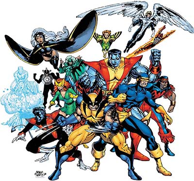 X Men Characters Comic Religion of characters...