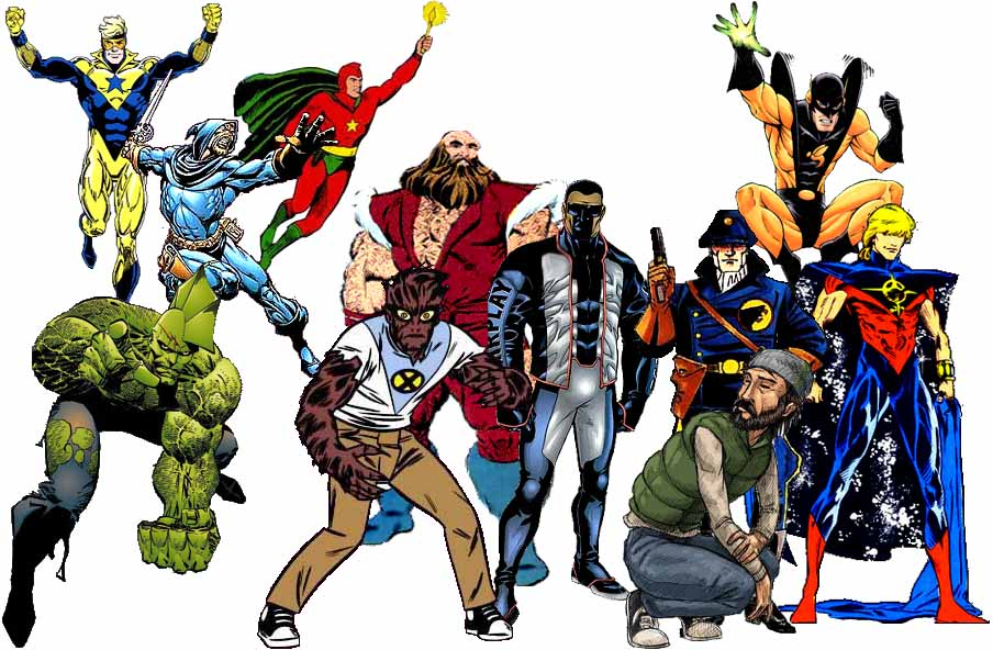 Atheist Super Heroes And Other Comic Book Characters