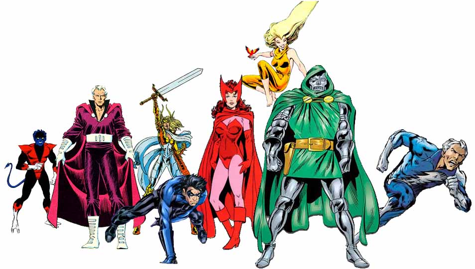 how to draw superheroes and villains