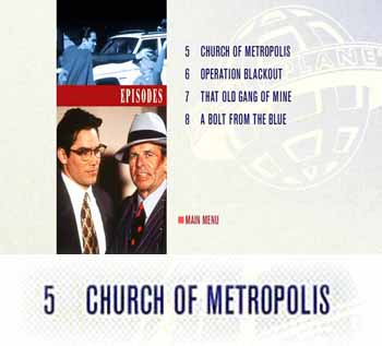 Ironically, this episode's religious-seeming title ('Church of Metropolis') actually refers to a very non-religious character: Bill Church, the head of the criminal organization Intergang.