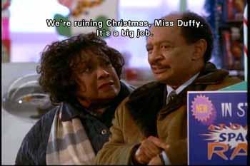 Toyman: We're ruining Christmas, Miss Duffy. It's a big job.