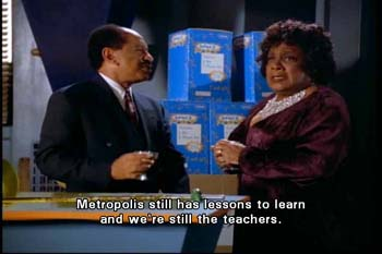 Toyman: Metropolis still has lessons to learn and we're still the teachers.