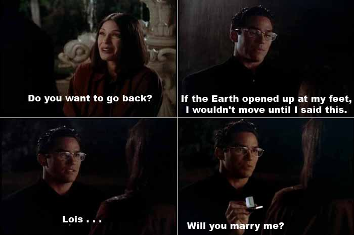Nothing can stop Clark Kent from proposing to Lois Lane now...