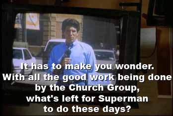 With all the good work being done by the Church Group...