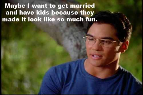 Clark Kent wants to get married and have children because so greatly admires his own parents' example