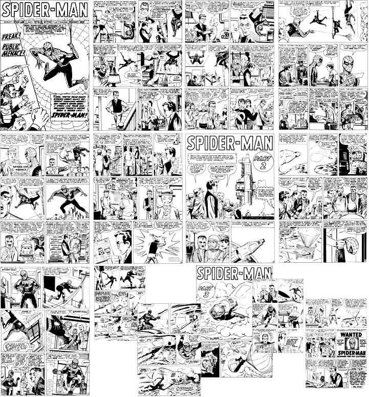 All 14 pages of Amazing Spider-Man #1 (story 1)