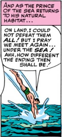 Namor to the Avengers: I pray we meet again!